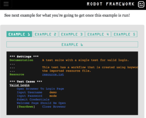 Comparison of Robot Framework and pytest for functional tests